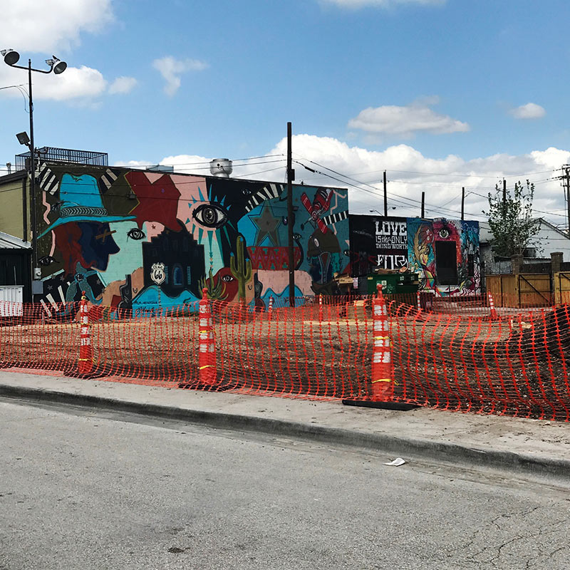 the wild west, Dallas, Texas, street art, graffiti,