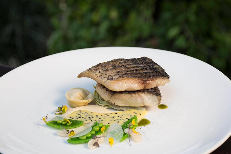 Asian Cuisine, Mediterranean cuisine, fish dishes, finest restaurant in Asia