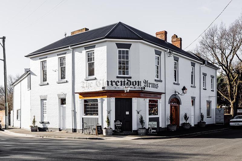 Clarendon Arms, Evandale, Launceston, Tasmania, Must do Launceston, pubs