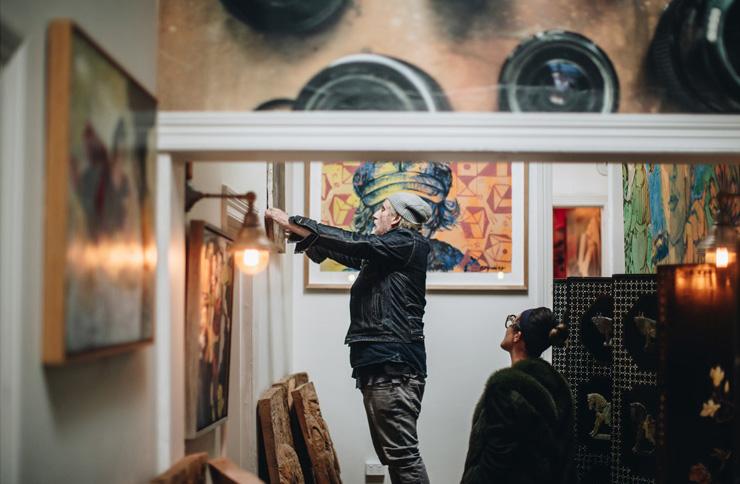 Artist Adam Parker, Made in Ballarat, Visit Ballarat, Visit Victoria, Australia, Regional exhibitions, art in Ballarat
