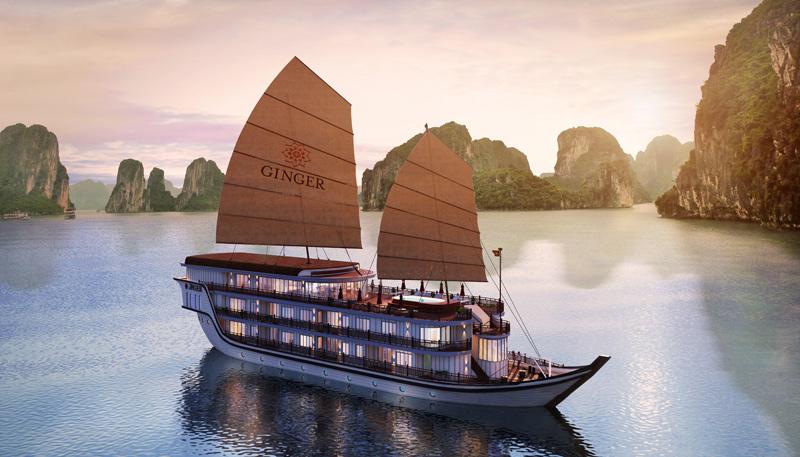 Halong Ginger, Halong Bay, Heritage Cruises, Vietnam