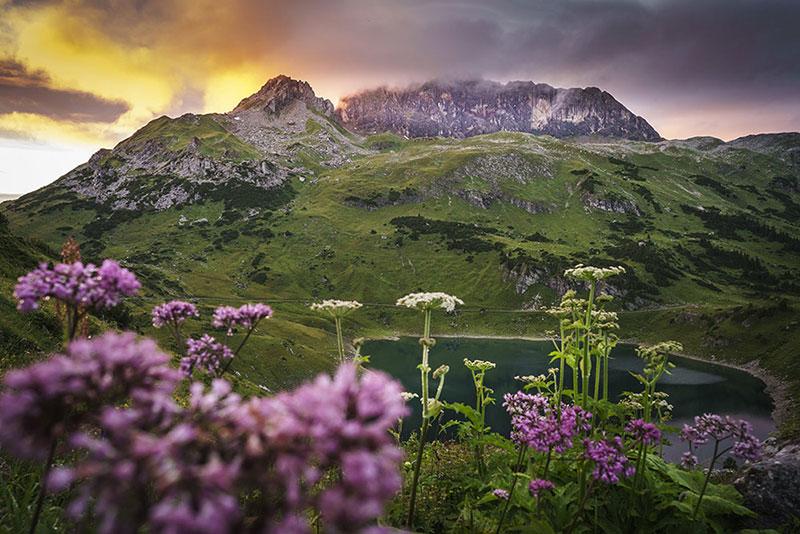Austria, Austrian Alps walking tours