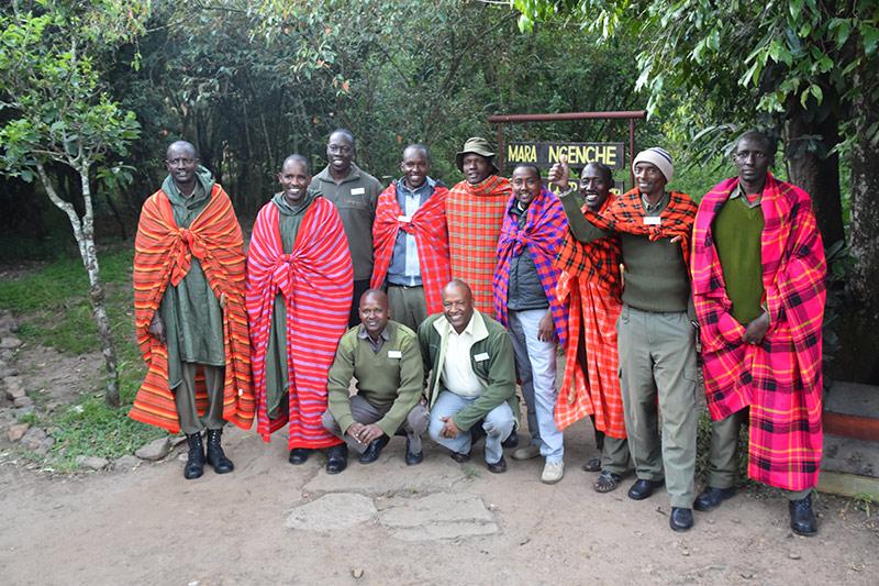 Mara Ngenche Camp, Safari in Kenya, Bench Africa tour of Kenya
