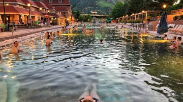Glenwood Springs, Colorado Hot Springs Loop, Aspen, Vail, America