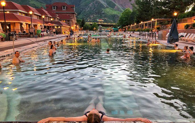 Glenwood Springs, Colorado Hot Springs Loop, Aspen, Vail, America