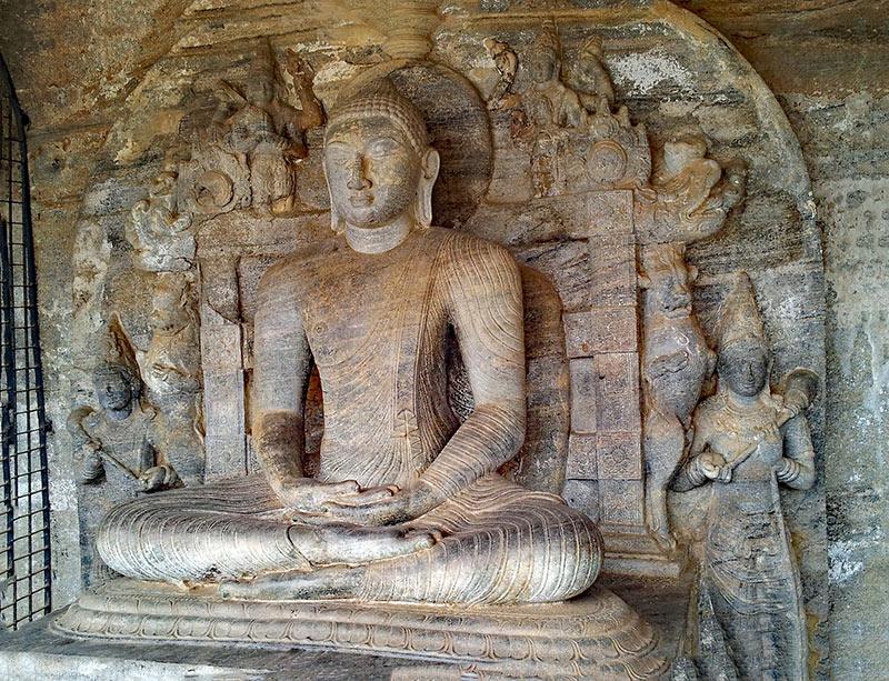 Giant Buddha Statue, Polonnaruwa, Sri Lanka, Sri Lanka tours, TravelBay Tours of Sri Lanka