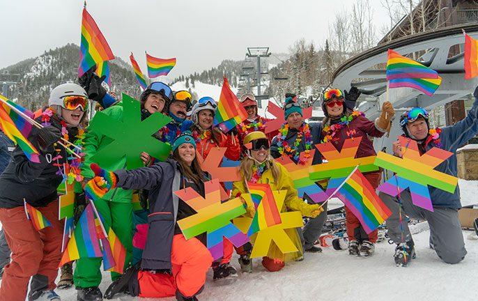 Fun and frivolity at Aspen's 42nd Gay Ski Week
