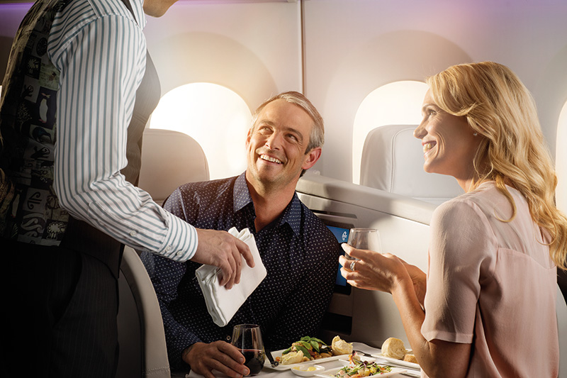 Air New Zealand Sydney to Auckland flight review