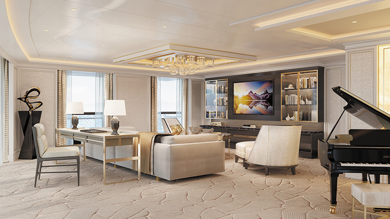 Regent Seven Seas Cruises release details about new next-level luxury Regent Suite