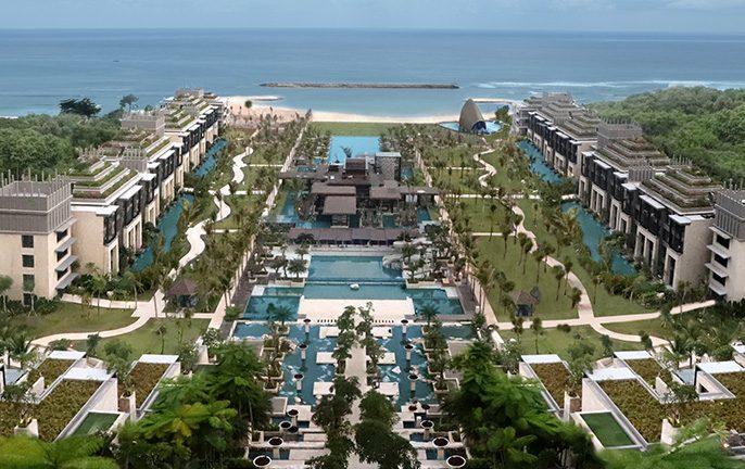 A new luxury resort in Bali: Apurva Kempinksi Bali