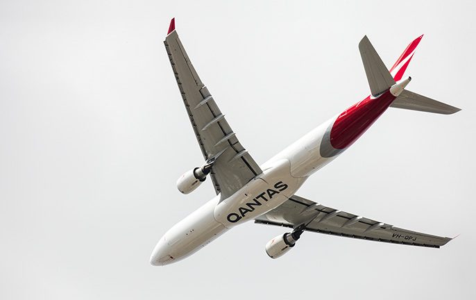 The Qantas Wellbeing app lets you earn frequent flyer points just for sleeping