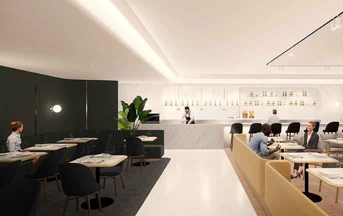 Qantas First Lounge Singapore Airport