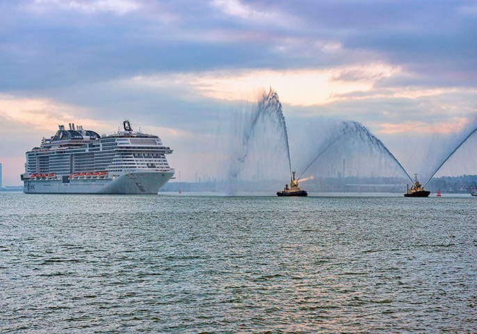 MSC Bellissima: Hollywood icon Sofia Lauren names a new ship for MSC Cruises