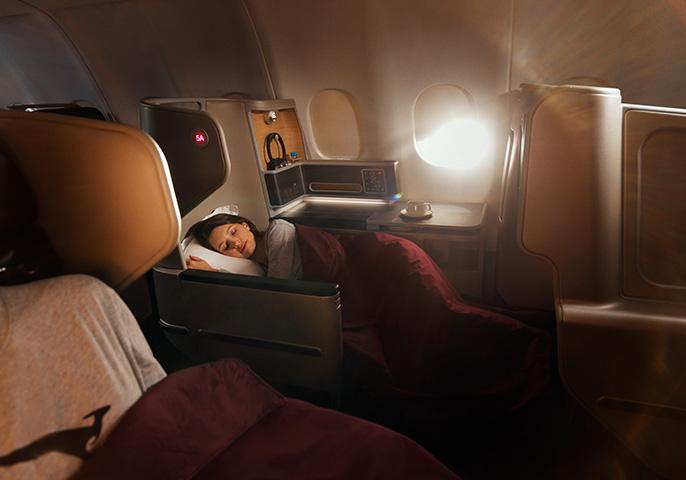 Qantas Sydney - Bangkok Business Class review