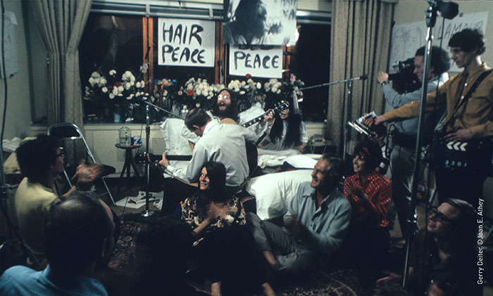 Celebrate the 50th anniversary of John and Yoko's Bed-Ins