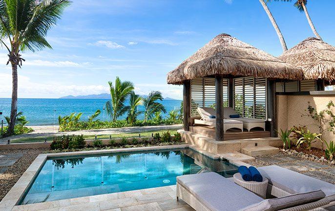 Luxurious modern villas for families in Fiji