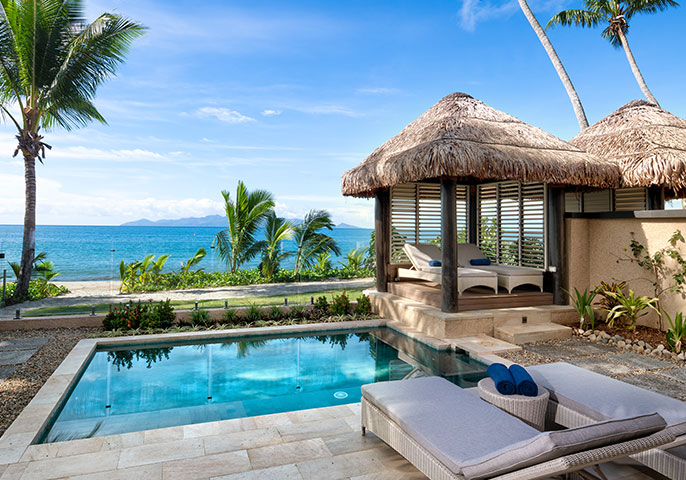 Luxurious modern villas for families in Fiji