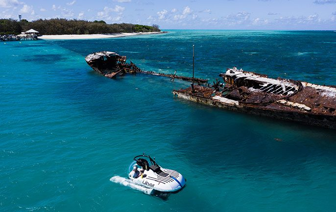 Explore the Great Barrier Reef with scUber