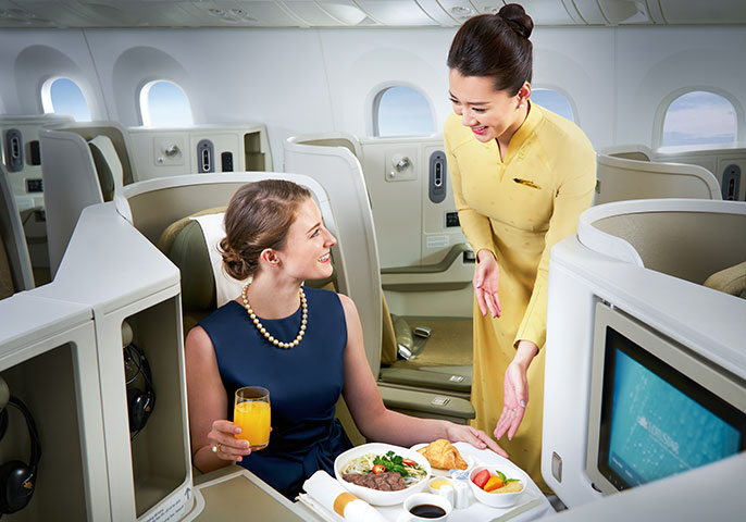 Vietnam Airlines: Sydney to Ho Chi Minh Business Class