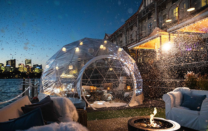 Where to experience a winter wonderland in Sydney