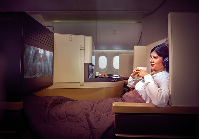 Etihad: Sydney to Abu Dhabi Business Class review