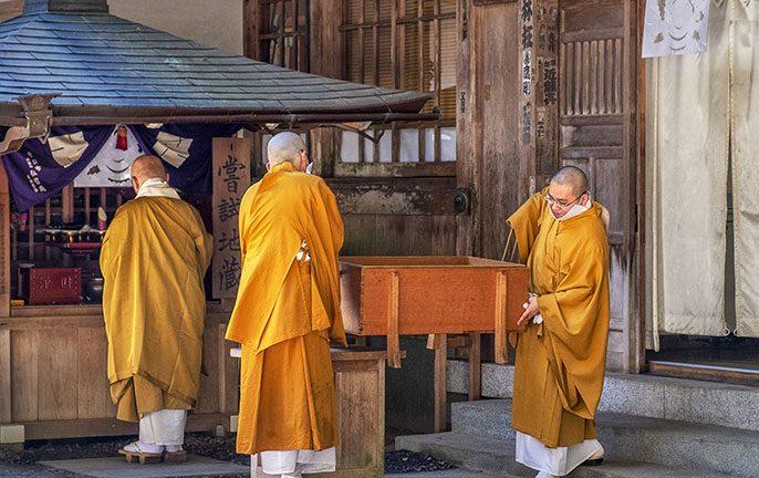 Monks, mantras and meditation in Japan