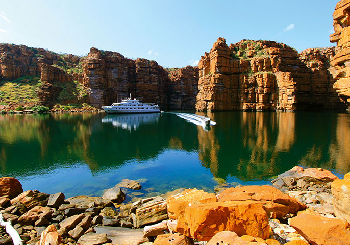 New itinerary for Kimberley cruisers