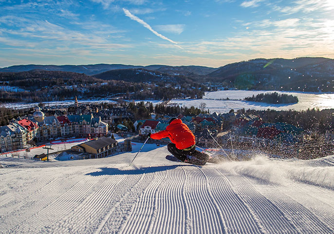 Go play outside: winter fun at Mont-Tremblant