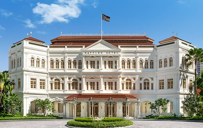 Iconic Raffles Singapore reopens after restoration