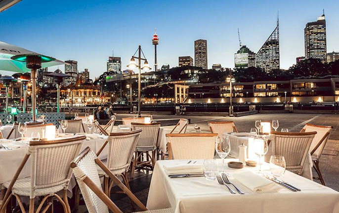 NSW vouchers for dining and entertainment: Manta, Woolloomooloo