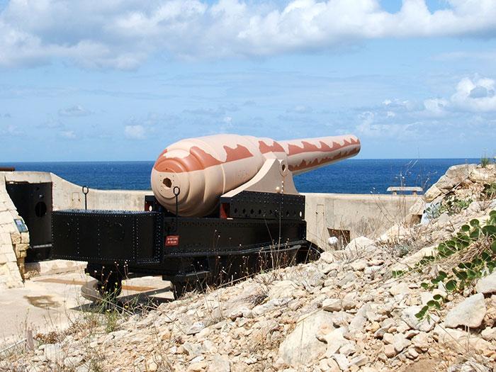 Armstrong-Kanone Malta 0138 - Malta