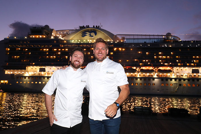 Curtis Stone unveils new fine dining menu on Ruby Princess