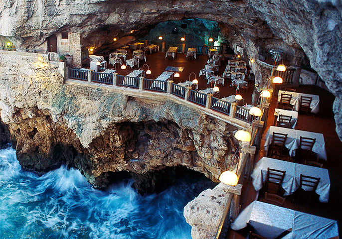 Dining in a sea cave: Is it worth it? (Grotta Palazzese)