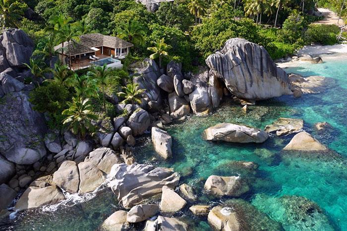 By the Seashore: Seychelles Fashion: Six Senses Zill Pasyon, Félicité Island