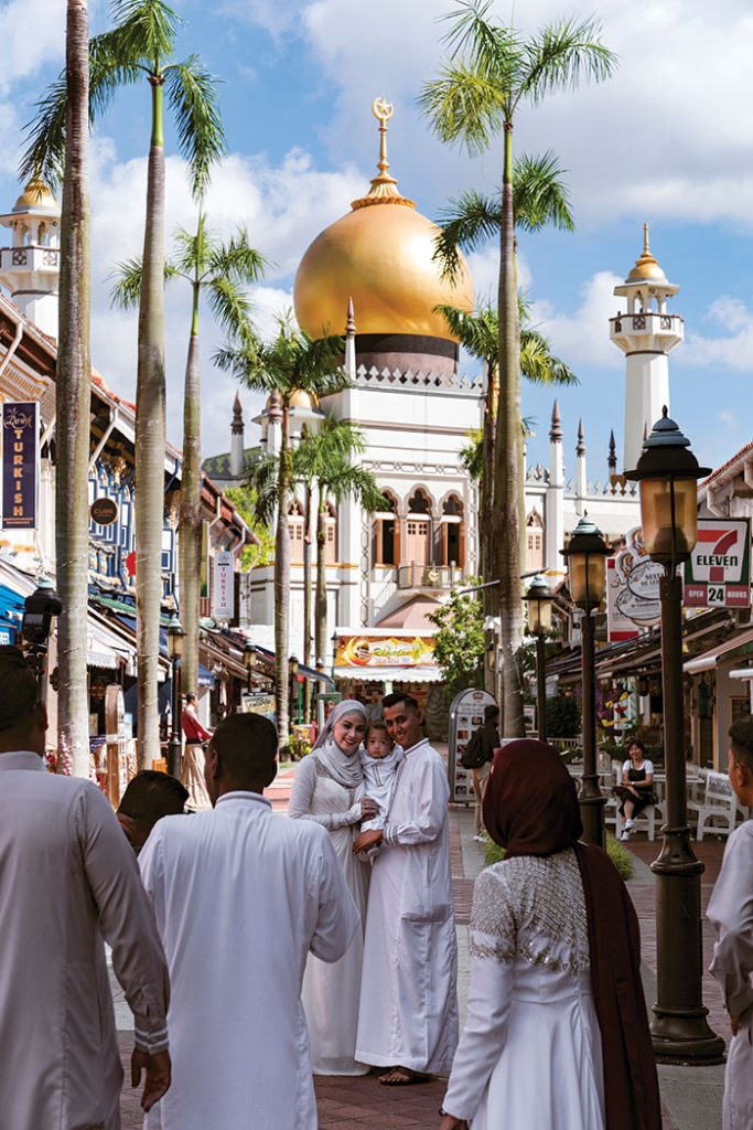 Singapore spin: Sultan Mosque. Image: Leigh Griffiths
