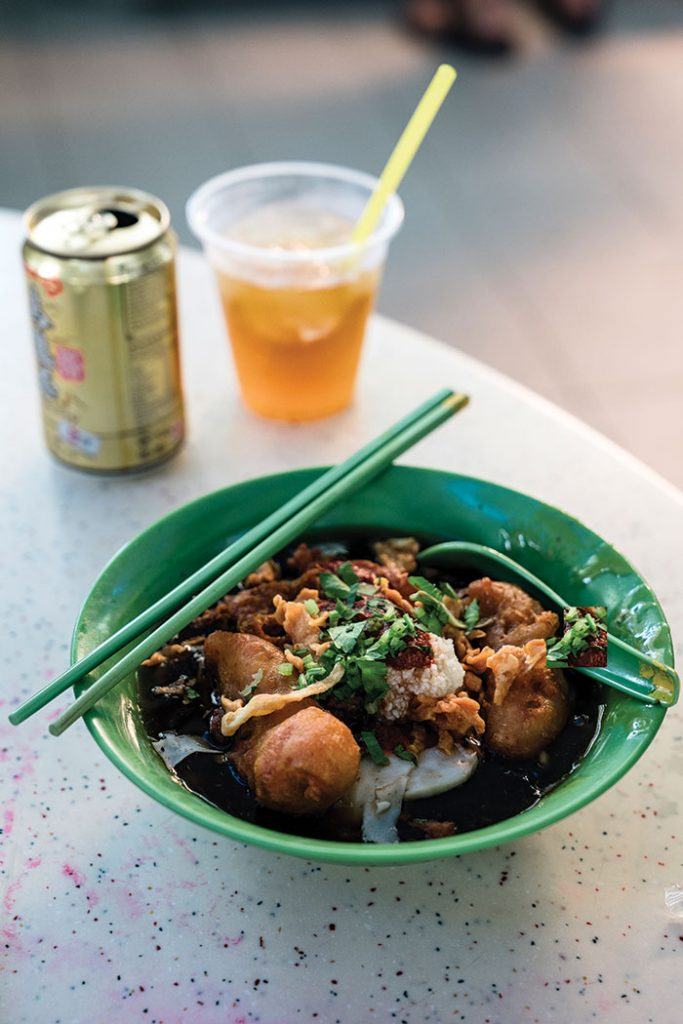 Singapore spin: Tiong Bahru Hawker street food. Image: Leigh Griffiths