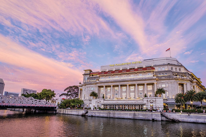 Singapore Spin: The Fullerton Hotel Singapore
