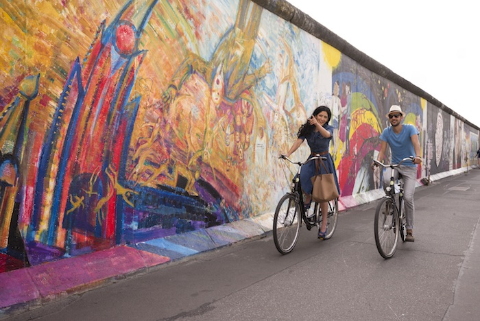 Fall of the Berlin Wall Anniversary - East Side Gallery Berlin. © visitBerlin, Photo: Philip Koschel