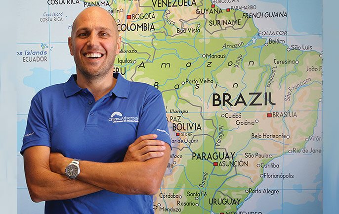 Chad Carey, Co-founder of Chimu Adventures