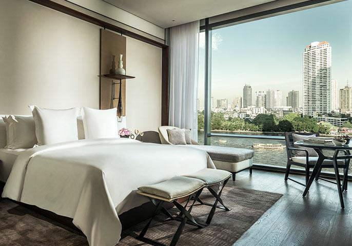 New Four Seasons Hotel Bangkok at Chao Phraya River
