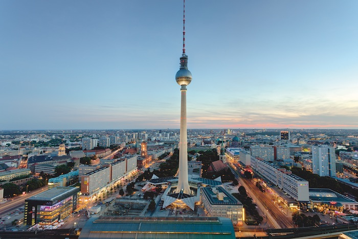 Fall of the Berlin Wall 30th Anniversary: Panorama of Berlin. © visitBerlin, Photo: Wolfgang Scholvien