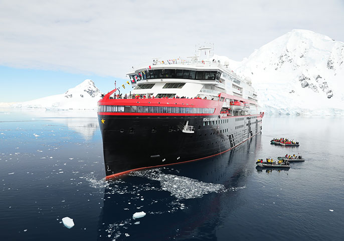 The world's most innovative cruise ship formally named in Antarctica | Vacations & Travel