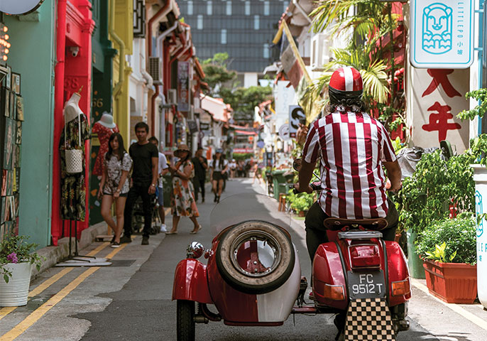 Singapore spin: exploring the city by sidecar | Vacations & Travel