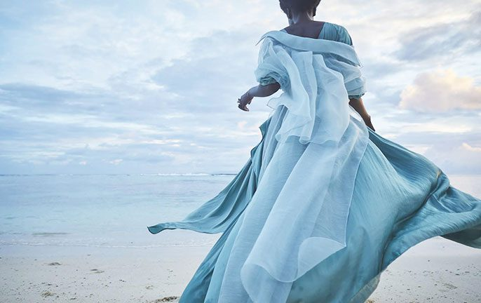 By the Seashore: Seychelles Fashion: SS20 Carl Kapp_Image by Julia Balla