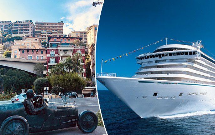Monaco Grand Prix Cruise stop