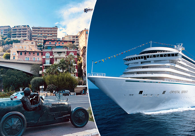 Enjoy the perfect cruise stopover during Monaco Grand Prix | Vacations & Travel