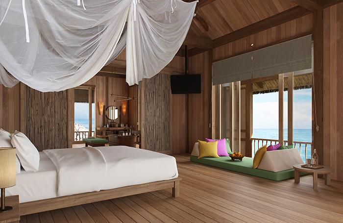 The Water Retreat Master Bedroom