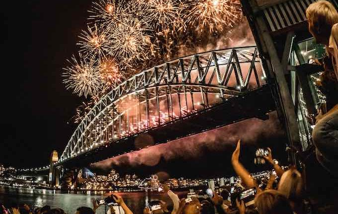 New Year's Eve Sydney Pier One