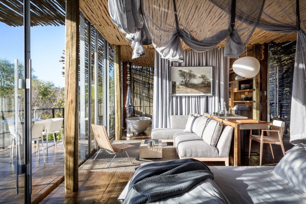African Photo Safari: Suite at Singita Lebombo Lodge
