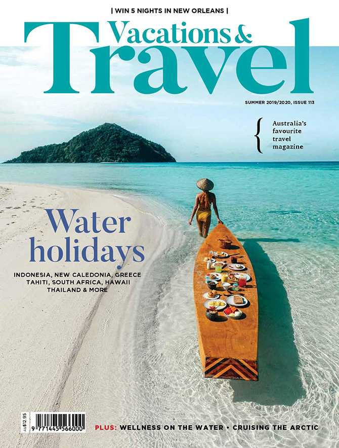 Vacations and Travel Summer Issue 113 Water Holidays